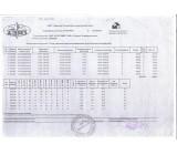 Сертификат качества на товар Арматура гладкая А-1 № 8