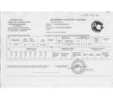 Сертификат качества на товар Профильная труба 15х15х1,5