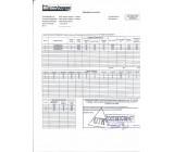 Сертификат качества на товар Профильная труба 100х100х2.5