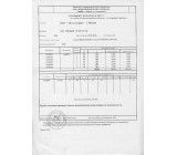 Сертификат качества на товар Профильная труба 100х50х3