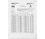 Сертификат качества на товар Профильная труба 60х40х3