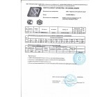 Сертификат качества на товар Профильная труба 80х80х2