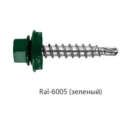 Саморезы Ral-6005 (зеленый)