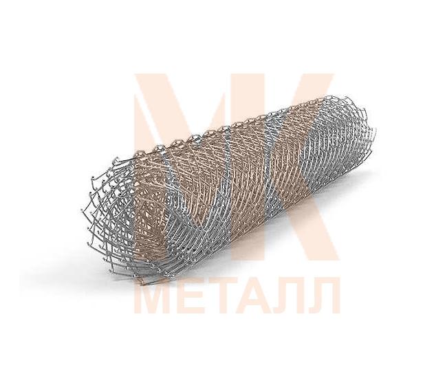 Рабица оцинкованная 1,5х10х1,6 (ячейка 55х55 мм)